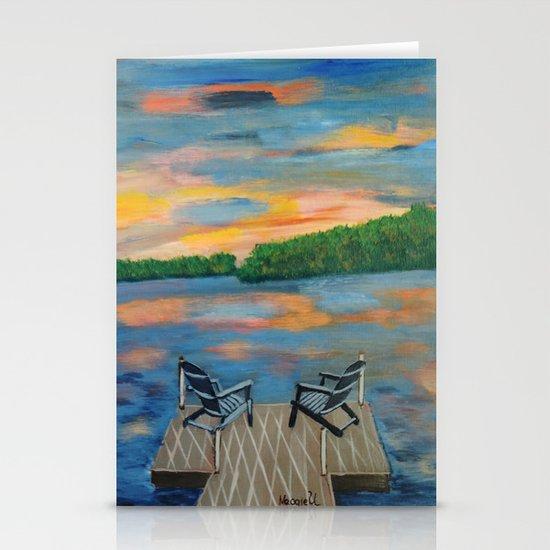 sundown Stationery Card