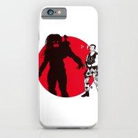 iPhone & iPod Case featuring Predator Cartoon Style by Alain Bossuyt