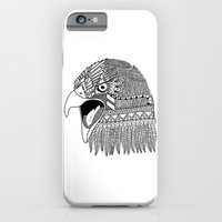iPhone & iPod Case featuring Indian Eagle by Pifla