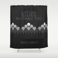 I'm A Few - Orphan Black Shower Curtain