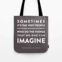 Imagine - Quotable Series Tote Bag