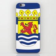 Flag Of Zeeland iPhone & iPod Skin