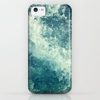 iPhone 5c Cases featuring Water I by Dr. Lukas Brezak