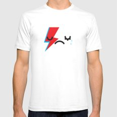 See you later Starman.  White SMALL Mens Fitted Tee