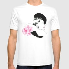 Helen SMALL White Mens Fitted Tee