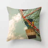 Dull Times Throw Pillow