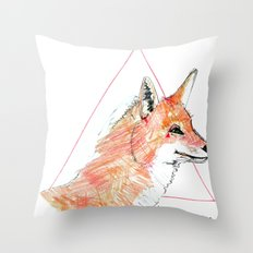 The street is mine Throw Pillow