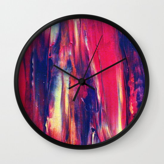 Abstract Painting 24 Wall Clock