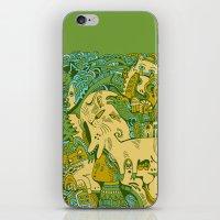 Green Town iPhone & iPod Skin