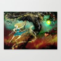 Cyclone Canvas Print