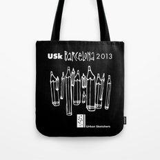 Urban Sketchers USk BCN 2013 Tote Bag