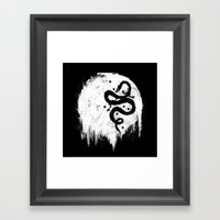 Midnight Wish Framed Art Print