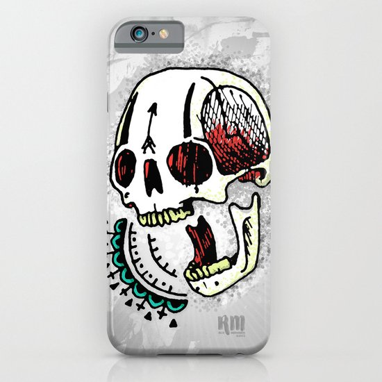 Laughing/Yelling/Yawning Skull iPhone & iPod Case