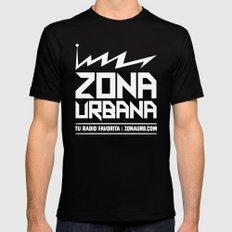 Zona Urbana Radio Mens Fitted Tee SMALL Black