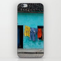 Out to dry in rural Bahia iPhone & iPod Skin