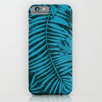 iPhone & iPod Case featuring Jungle blue Pattern by Littlemess
