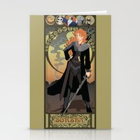 Sorsha Nouveau - Willow Stationery Cards