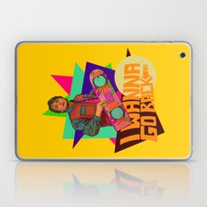 I Wanna Go Back!  |  Hoverboard  |  80's Inspiration Laptop & iPad Skin