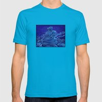 .:A Whole New World:. Mens Fitted Tee Teal SMALL