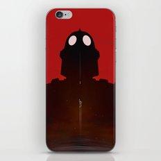 Iron Red iPhone & iPod Skin