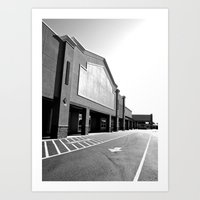 Art Print featuring Goodbye Lowe's by Vorona Photography