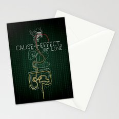 Cause And Effect, My Love Stationery Cards