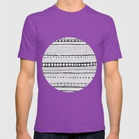 Pattern #1 Mens Fitted Tee Ultraviolet SMALL