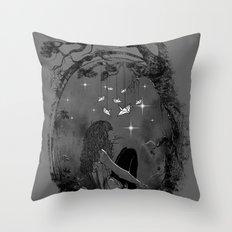 Boredom Strikes Throw Pillow