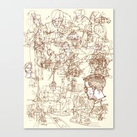 This is What We Call a Life Drawing Canvas Print