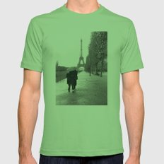 Paris Amour Mens Fitted Tee Grass SMALL