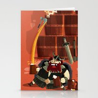 :::Drunk Vikings::: Stationery Cards