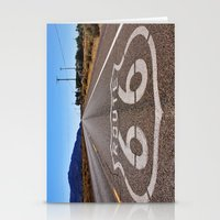 Historic Route 66 Stationery Cards