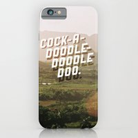 Cock-A-Doodle-Doodle Doo iPhone 6 Slim Case