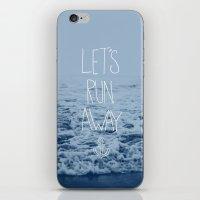 Let's Run Away: Ocean iPhone & iPod Skin