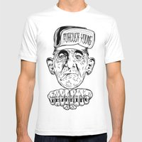 Forever Young Mens Fitted Tee White SMALL