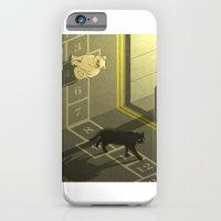 Cat Hopscotch  iPhone 6 Slim Case