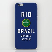 Rio de Janeiro Brazil iPhone & iPod Skin