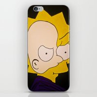 Phantom Of Springfield iPhone & iPod Skin