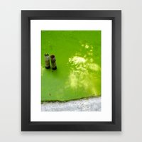 Slime & Light Framed Art Print