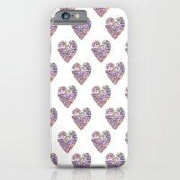 True Love, Passport Stamp Heart iPhone 6 Slim Case