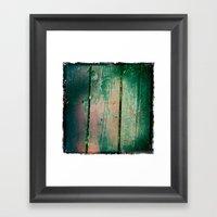 Deck Framed Art Print