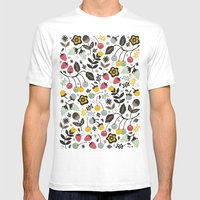 Very Berry Mens Fitted Tee White SMALL