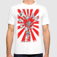 seppuku monster White Mens Fitted Tee SMALL