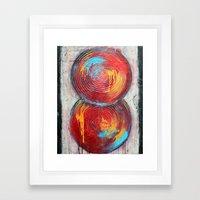 Balanced Framed Art Print