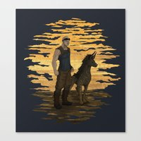 Riddick And Escape Artis… Canvas Print