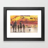 Nuclear Family Framed Art Print