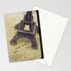 Trip To Paris Stationery Cards