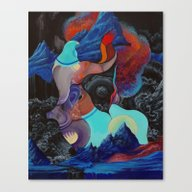 Canvas Print featuring It Took The Collective W… by Anthony Hurd