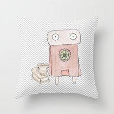 Superheros Throw Pillow