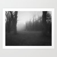 The Fog in the Hollow Art Print